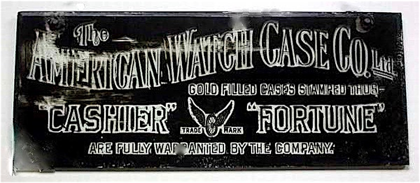 fortune watch case serial numbers