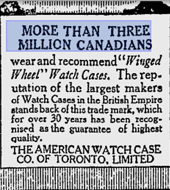 3 Million Toronto World Feb 6, 1918.png