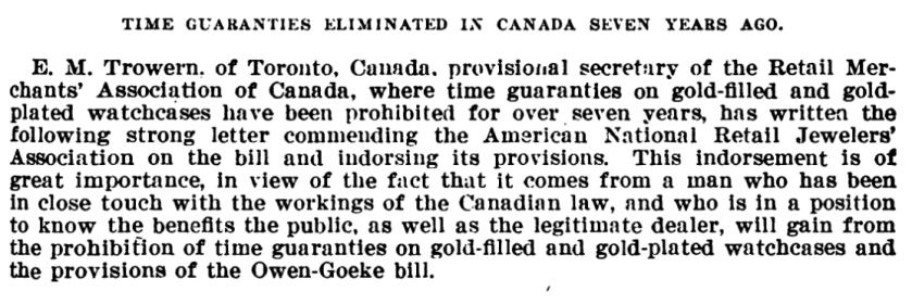 E.M. Trowern Letter Preamble Owen Goeke Hearings 1913.png
